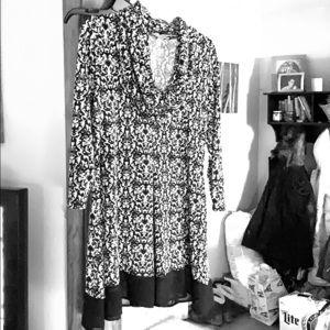 Blousy Cowkneck dress/shirt style